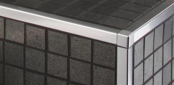 Belagsabschlüsse für Wand- und Bodenbereiche