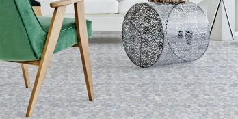 Trittsicheres Mosaik