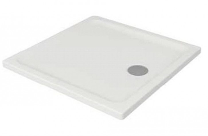 Acryl-Duschwanne Tako 80x80x3 cm inkl. Standfüße