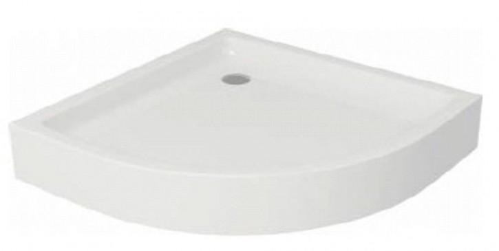 Acryl-Duschwanne Tako 80x80x6 cm inkl. Standfüße