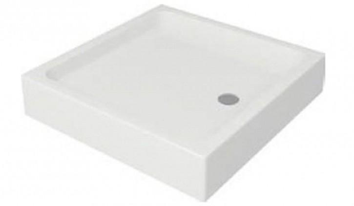 Acryl-Duschwanne Tako 90x90x6 cm inkl. Standfüße