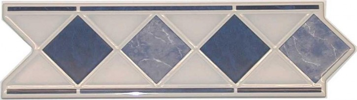 Action Bordüre 6x20cm marmol blau