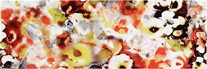 Air Wand 20x60cm Blumen multicolour glänzend