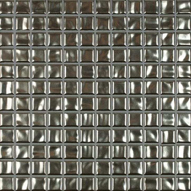 Amano metallic Mosaik 2x2x0,65cm