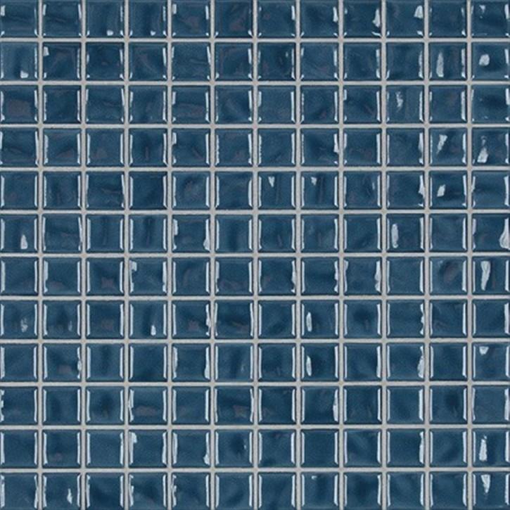 Amano pur blau glzd. Mosaik 2x2x0,65cm