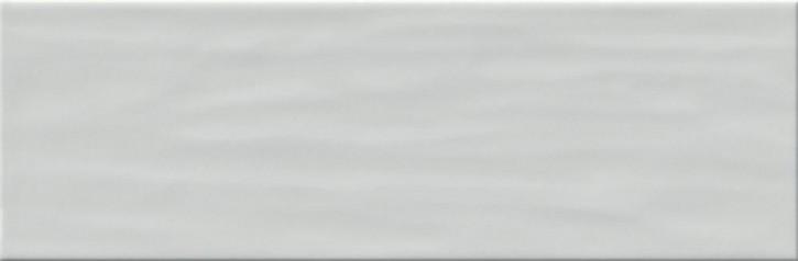 Bachata Wand 10x30cm grau glzd. stukturiert