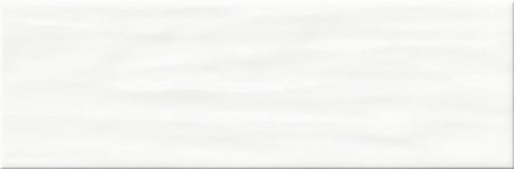 Bachata Wand 10x30cm weiß glzd. stukturiert