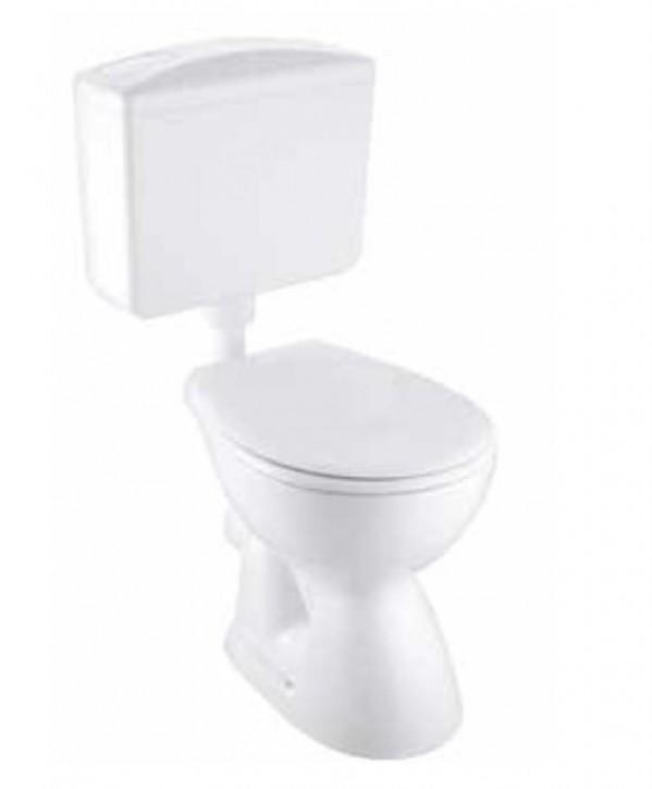 Basic plus Stand-WC Set Abgang innen senkrecht
