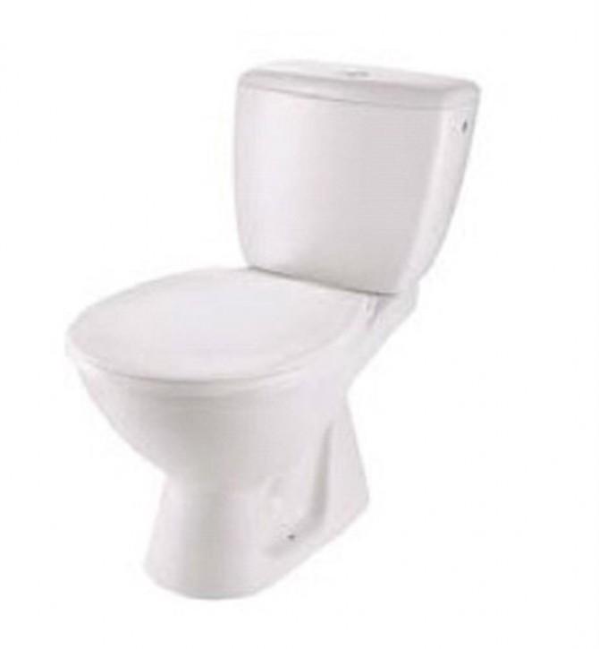 Basic plus WC-Kombination Set Abgang waagerecht