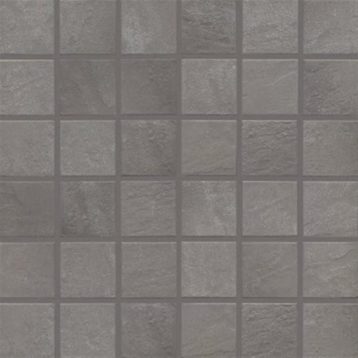 Basic-stone mittelgrau R10/B Mosaik 5x5x0,65cm