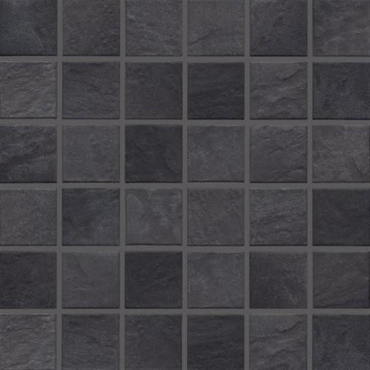 Basic-stone schwarz R10/B Mosaik 5x5x0,65cm
