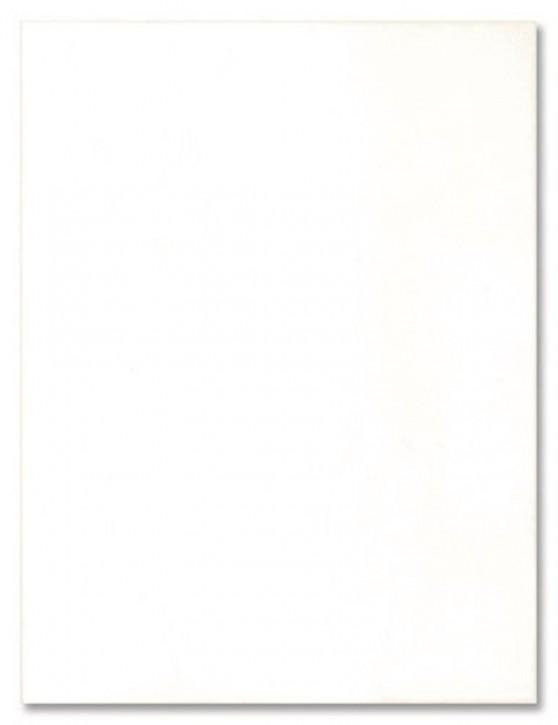 Basis Wand 25x33cm weiß glzd.