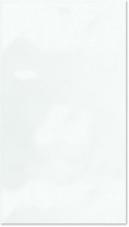 Basis Wand 25x44cm weiß glzd. gewellt