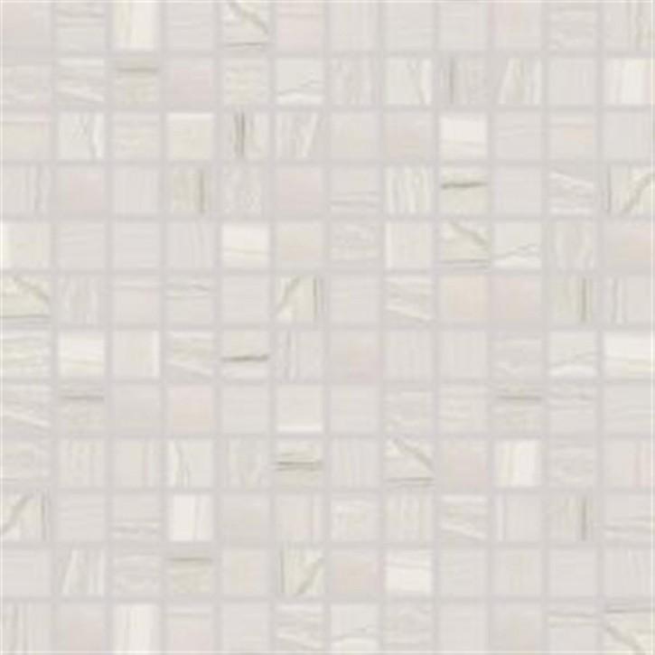 Boa Mosaik 30x30cm (2,5/2,5) hellgrau matt rekt.