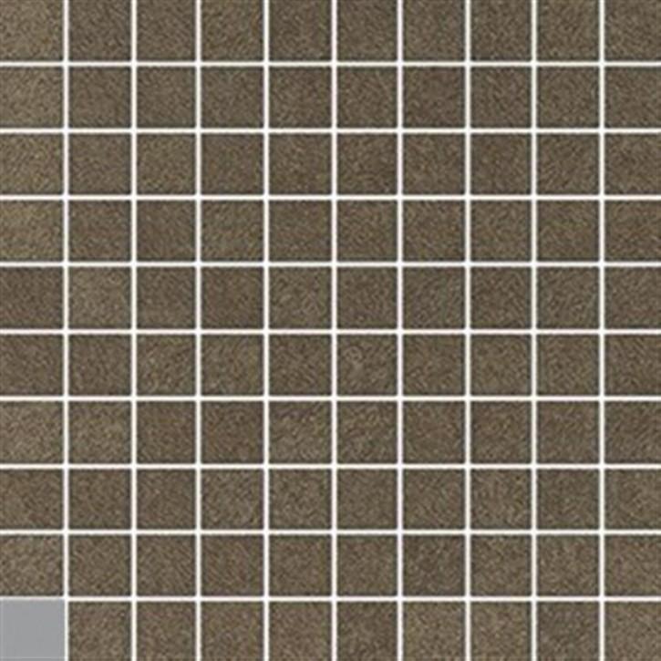 Boutique Mosaik(3/3) 30x30cm braun ungl. R10B rekt.