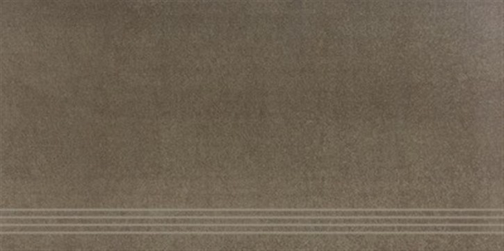 Boutique Treppenfliese 45x90cm braun ungl. R10 rekt.