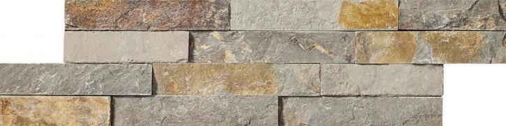 Brickstone Wandverblender 10x35cm rost
