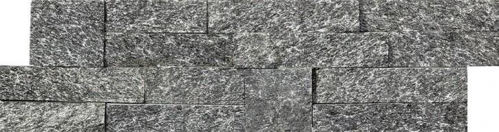 Brickstone Wandverblender 10x37,5cm schwarz