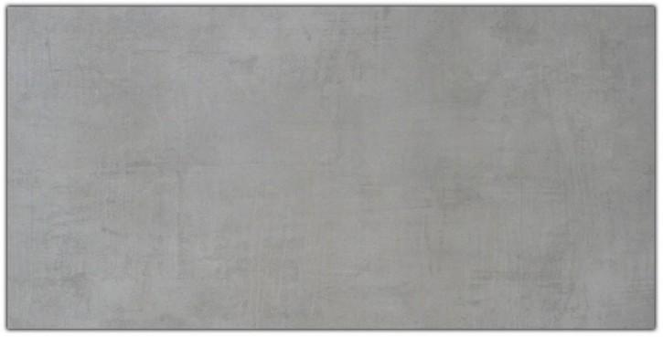 Cement Boden 45x90cm grau matt rekt. Abr.4
