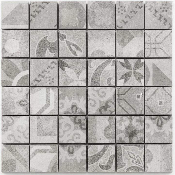 Cemento Vintage  29,8x29,8 cm grey