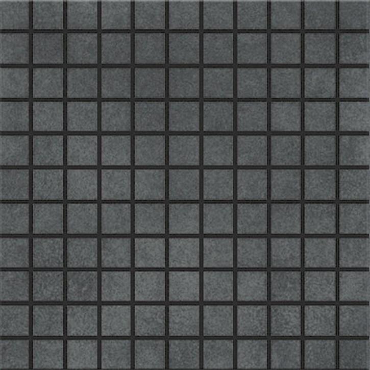 City Squares Mosaik (2,5/2,5) 30x30cm anthrazit R9C Abr.4
