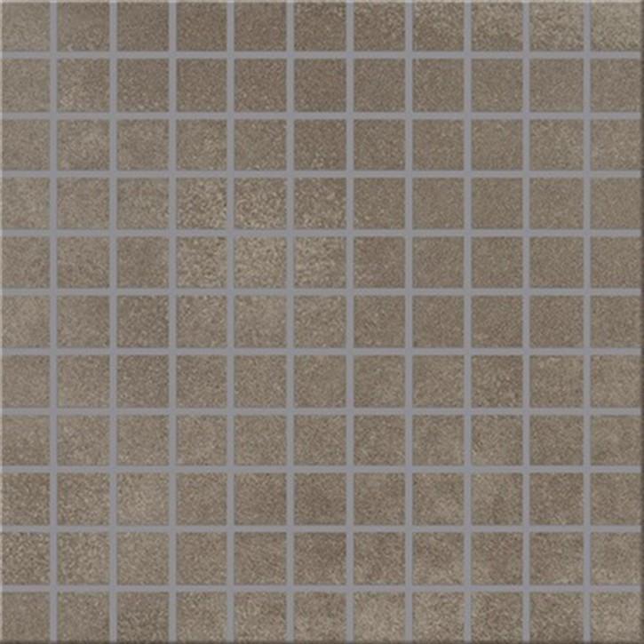 City Squares Mosaik (2,5/2,5) 30x30cm braun R9C Abr.3