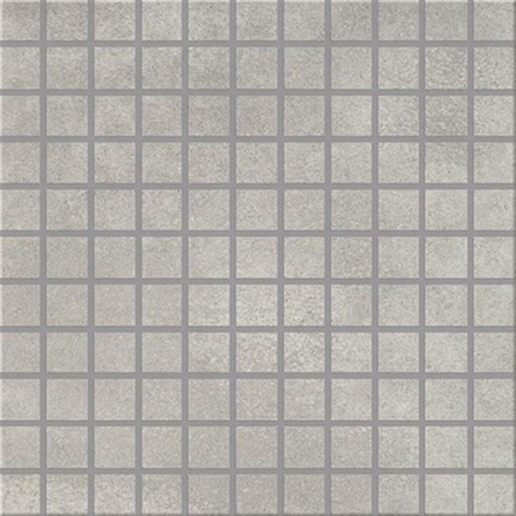 City Squares Mosaik (2,5/2,5) 30x30cm hellgrau R9C Abr.5