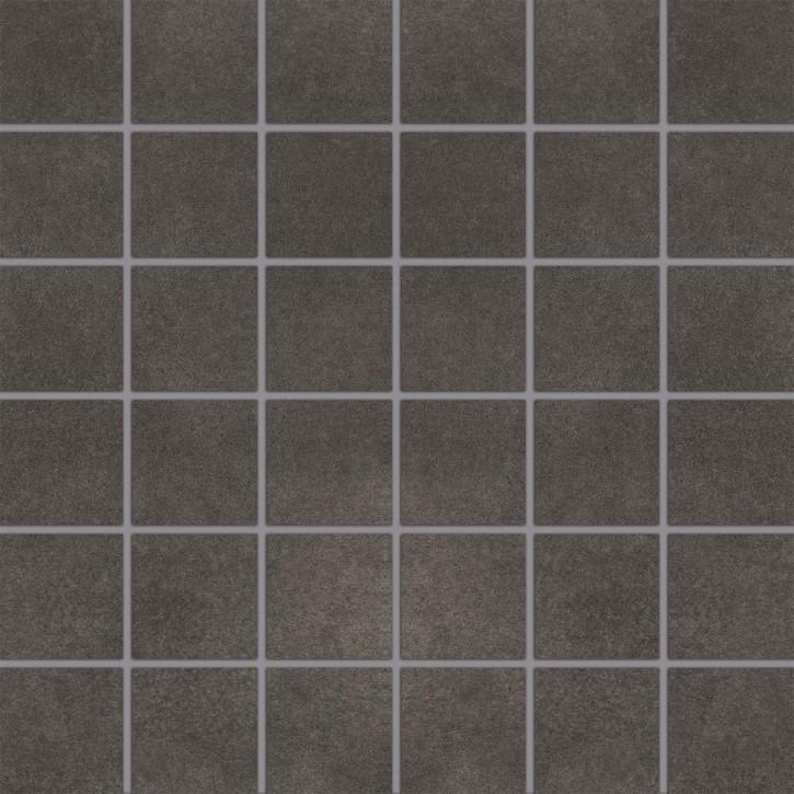 City Squares Mosaik (5/5) 30x30cm anthrazit R9 Abr.4