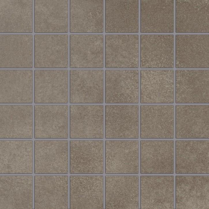 City Squares Mosaik (5/5) 30x30cm braun R9 Abr.3