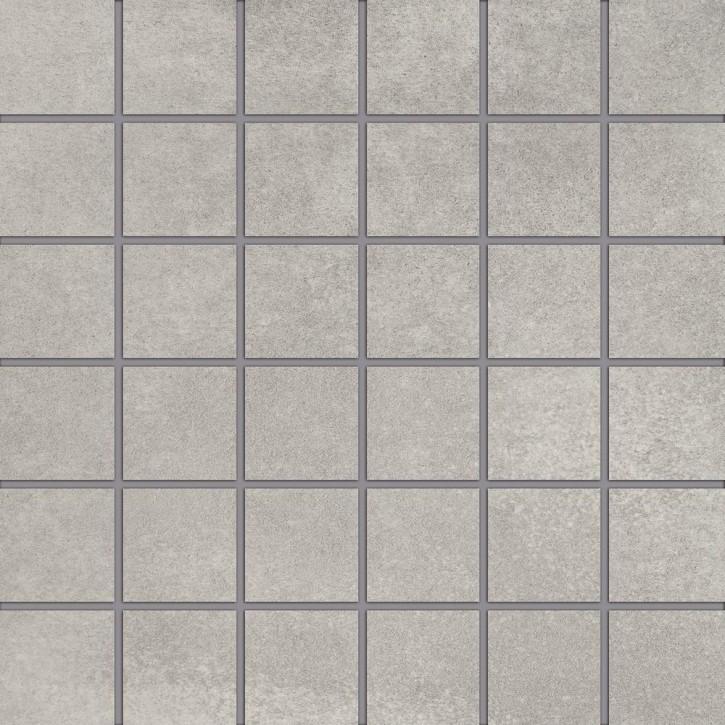 City Squares Mosaik (5/5) 30x30cm hellgrau R9 Abr.5