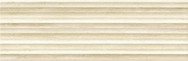 Classic Travertine Dekor 24x74cm beige-braun