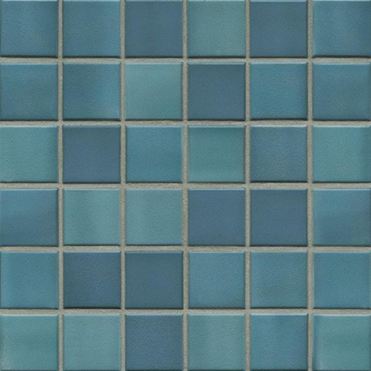 Colours ocean blue R10/B Mosaik 5x5x0,65cm