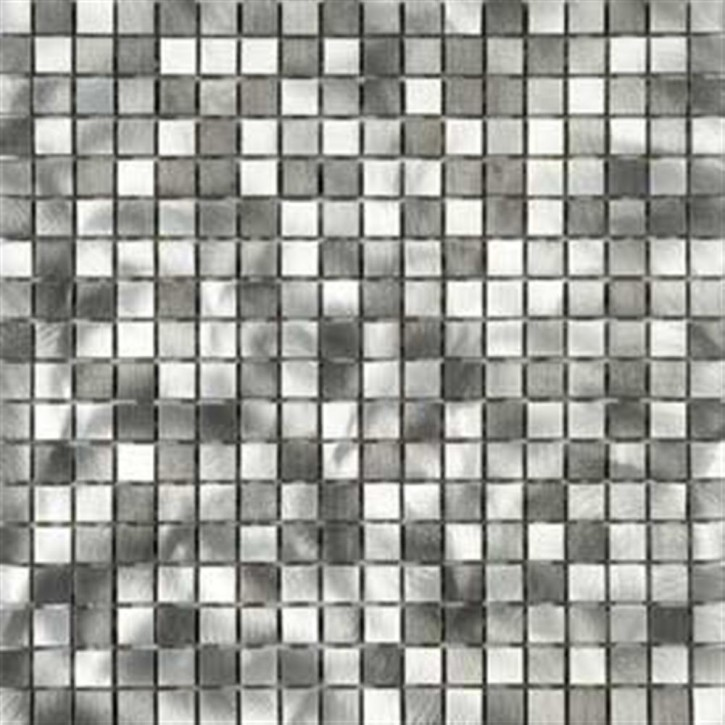 Concept Mosaik 30x30cm (1,5/1,5) Alu Graphit Mix