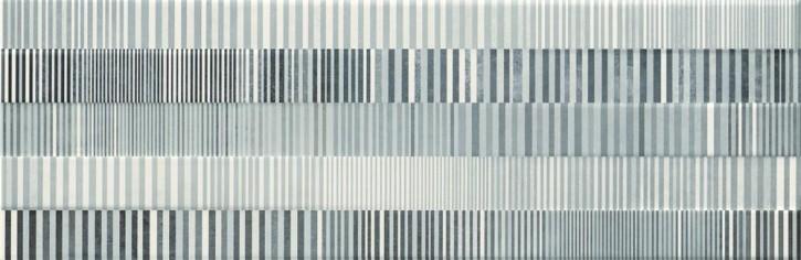 Concrete Stripes Dekor 29x89cm grau-weiß