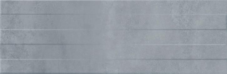 Concrete Stripes Wand 29x89cm grau matt strukt.