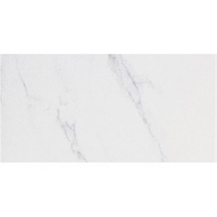 Crystal White Boden 30x60cm bianco carrara pol.rekt.