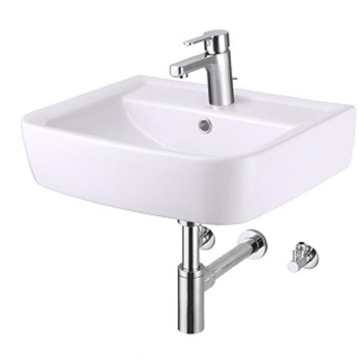 Design Handwaschbecken Set 50 cm