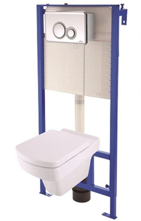 Design Wand-WC Set mit Vorwandelement-Trockenbau