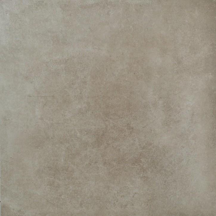 Dolmen Boden 120x120cm beige matt rekt. Abr.6
