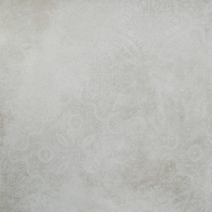 Dolmen Dekor 4 Motive 80x80cm weiß matt rekt. Abr.4