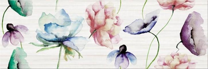 Elegant Stripes Dekor 25x75cm multicolour flower
