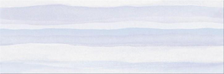 Elegant Stripes Wand 25x75cm blau gestreift