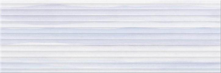 Elegant Stripes Wand 25x75cm blau strukt.