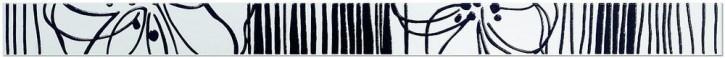 Esprit Bordüre 4x60cm schwarz