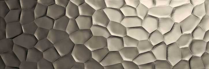 Essenziale Wand 40x120cm Deco 3D Metal struktura rekt.