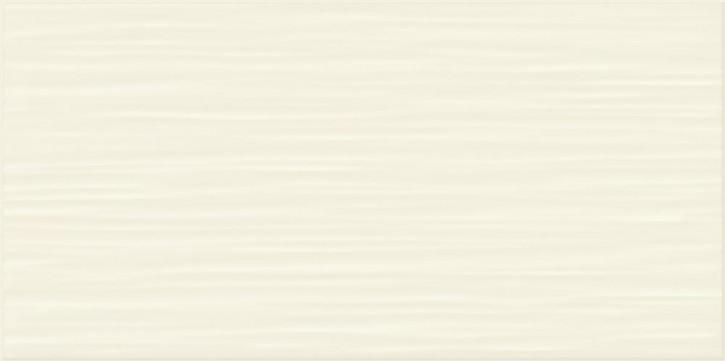 Flat Wand 20x40cm beige glzd. stukturiert