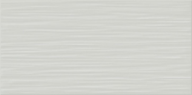 Flat Wand 20x40cm grau glzd. stukturiert