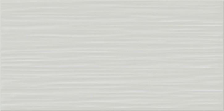 Flat Wand 20x40cm grau matt stukturiert
