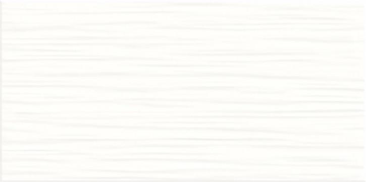Flat Wand 20x40cm weiß matt stukturiert