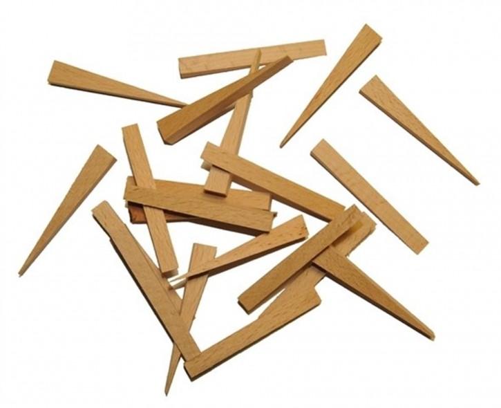 Fliesenkeile, Holz, 100 Stück